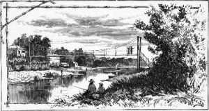 historical sketch bridge