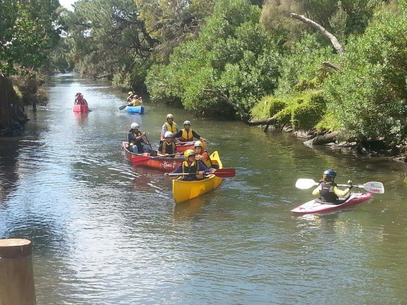 Canoeing the Kananook