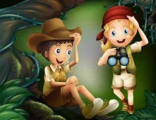 Junior Rangers on a Discovery Mission