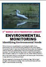 Environmental Monitoring, link to flyer
