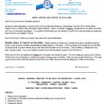 KCA Notice AGM 2019